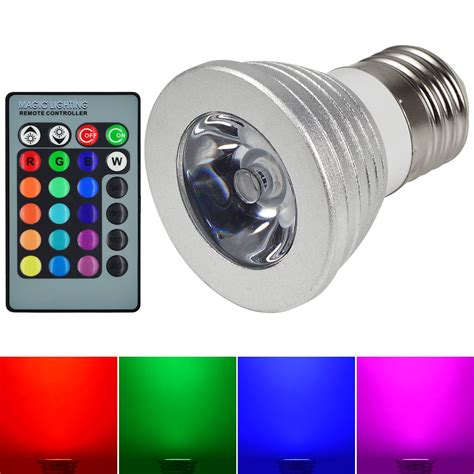 Magic Light E27 3W RGB LED | Watches Store Online Reviews